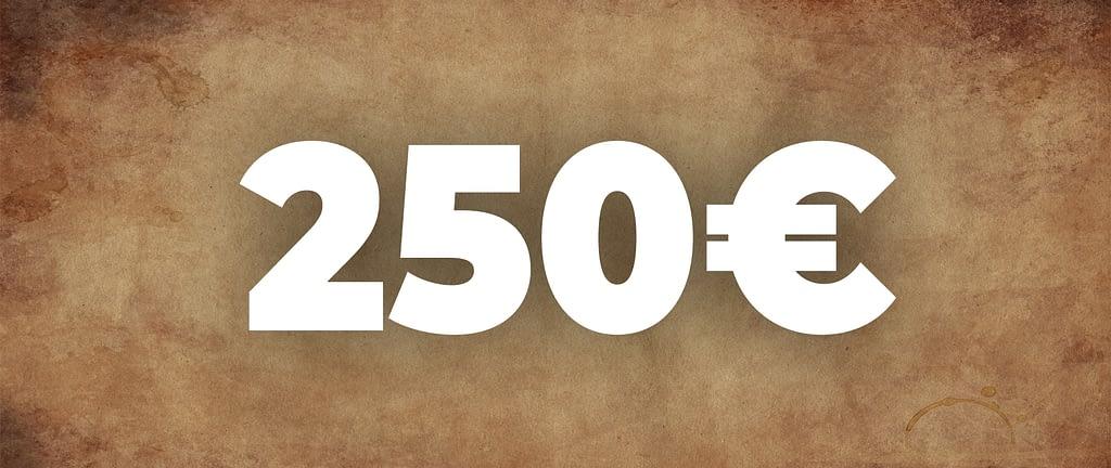 gutschein 250euro